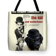 Wetterhoun-frisian Water Dog Art Canvas Print - The Kid Movie Poster Tote Bag