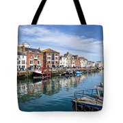 Weymouth Harbour Tote Bag