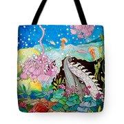 Whaeel And The Sea Tote Bag