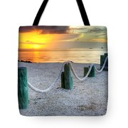 Whale Harbor II Tote Bag