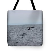 Whale Tail 2 Tote Bag