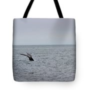 Whale Tail 8 Tote Bag
