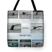 Whale Tails Tote Bag