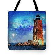 Whaleback Lighthouse Tote Bag