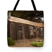 Whalers Cabin Tote Bag by Barbara Snyder