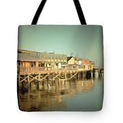 Fishermans Wharf Monterey California Tote Bag