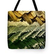 Wharf Reflections Tote Bag