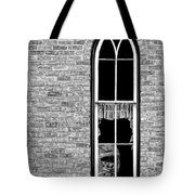 What 800 Lbs Gorilla Bw Tote Bag