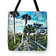 What A Beautiful Boardwalk Tote Bag