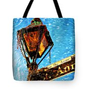 What A Party Painted Tote Bag