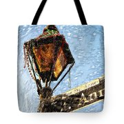 What A Party Sketch Tote Bag