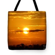 What Do You See Sunset Tote Bag