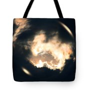 What Holds The Sky Up Under The Wind Tote Bag