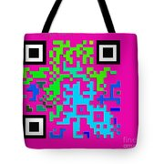 What Is Fine Art Quick Response  Tote Bag