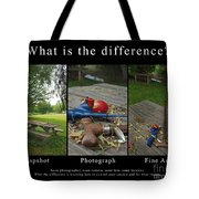 What Is The Difference Tote Bag
