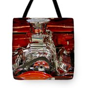 What Is Under The Hood-red Customized Retro Pontiac Tote Bag