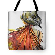 What Lies Ahead Series  I Found Me Tote Bag