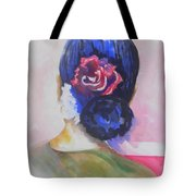 What Lies Ahead Series.. Watching Time Go By Tote Bag