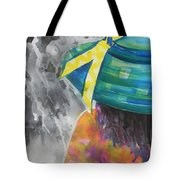 What Lies Ahead Series....chaos  Tote Bag by Chrisann Ellis