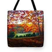 What The Cow Saw Tote Bag
