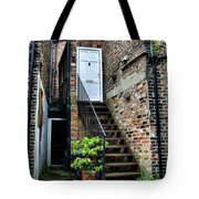 What's Behind The White Door Tote Bag