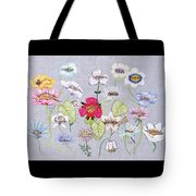 What's In A Flower Tote Bag