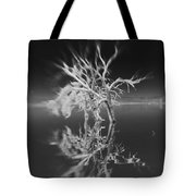 Whats Left Black And White Tote Bag