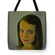What's She Thinking? Tote Bag