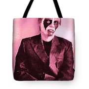 Whats The Point In Miming In Burgundy Tote Bag