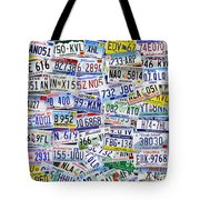 What's Your License? Tote Bag by Bedros Awak