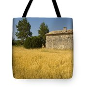Wheat Field, France Tote Bag
