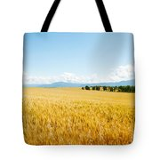 Wheat Field Near D8, Brunet, Plateau De Tote Bag