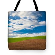 Wheat Wave Tote Bag