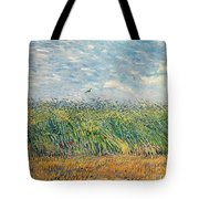 Wheatfield With Lark Tote Bag