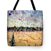 Wheatfields At Dusk Tote Bag