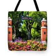Wheaton Memorial Park Tote Bag