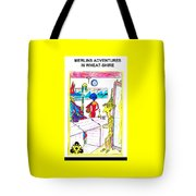 Wheatshire Mr Barley Bridge Pawn Shop Tote Bag