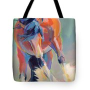 Whee Tote Bag by Kimberly Santini