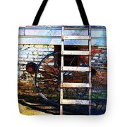 Wheel And Ladder Tote Bag