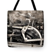 Wheel And Steam Tote Bag