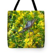 Wheel Bug  Tote Bag