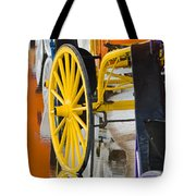 Wheel Colors Tote Bag