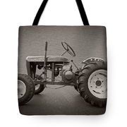 Wheel Horse Vintage Tote Bag