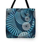 Wheel In The Sky 1 Tote Bag by Angelina Vick