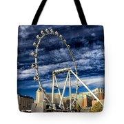 Wheel In The Sky Las Vegas Tote Bag