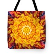 Wheel Of Fire Tote Bag