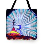 Wheel Of Light Work B Tote Bag