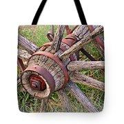 Wheel Of Old Tote Bag