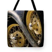 Wheel To Wheel Tote Bag