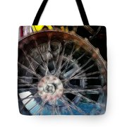 Wheels Tote Bag